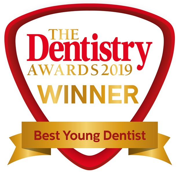 Winner - Best Young Dentist at The Dentistry Awards 2019